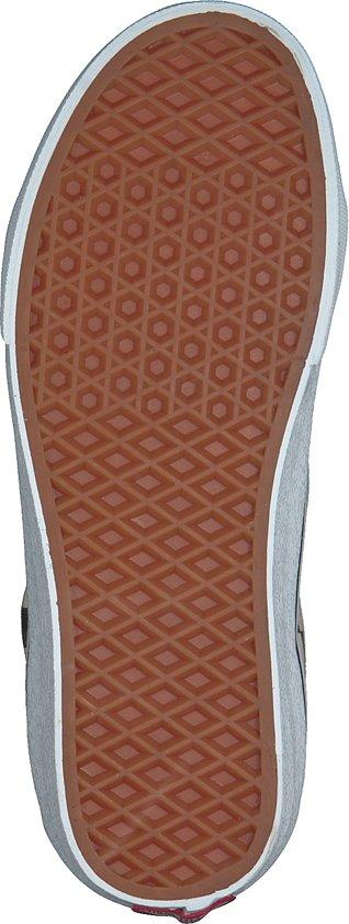 Vans Dames Sneakers Sk8 Mid Reissue Checkerboard - Zwart