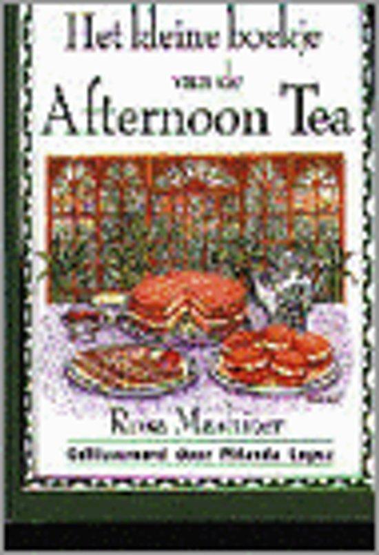 Kleine boekje afternoon tea - Mashiter  