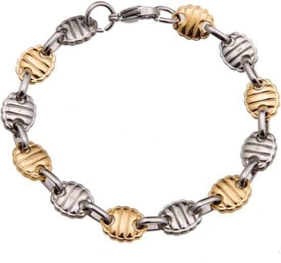 Emparus Konings Armband - Edelstaal (Schakel-Systeem)