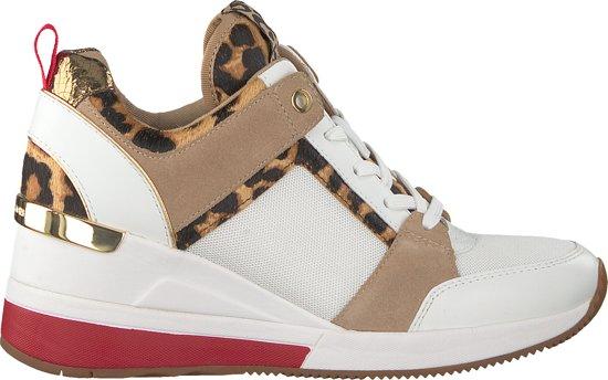 f25396d14f3 bol.com | Michael Kors Dames Sneakers Georgie Trainer - Wit - Maat 38,5