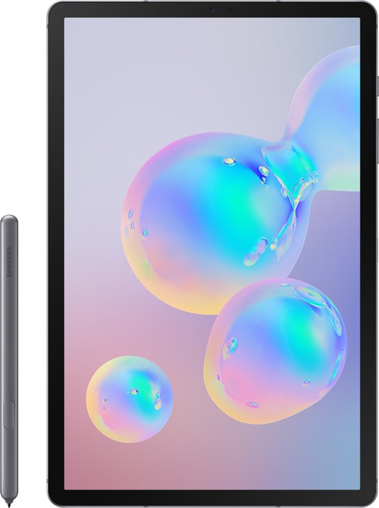 Samsung Galaxy Tab S6 256GB WiFi Grijs