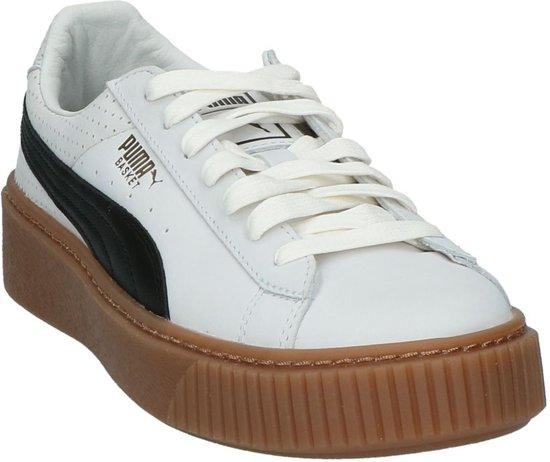 puma Dames 366807 01 Sneaker puma gold Gekleed Wit Maat Puma Black 38 Laag 5 White vRwp1