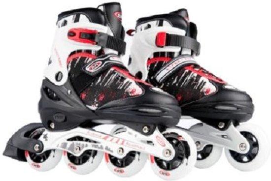 a2028f0667a bol.com | Laubr Smooth Skates - maat 39-42 - ABEC 9 - rood/wit/zwart ...