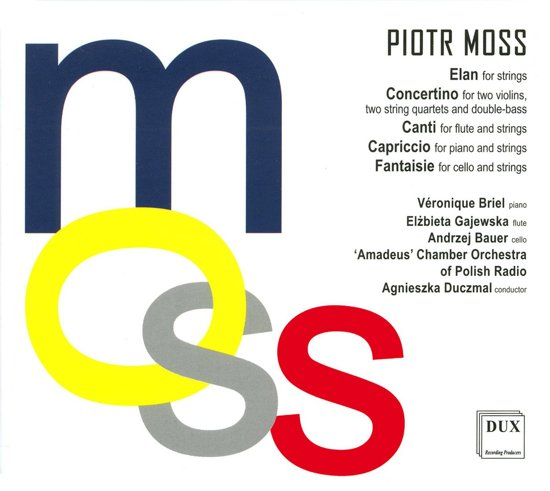 Moss: Elan, Concertino, Canti, Capr