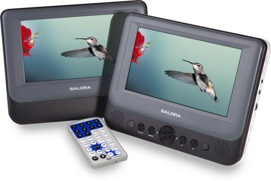 Salora DVP7048TWIN - Portable DVD-speler - 7 inch