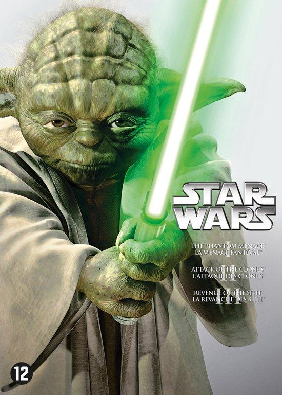 DVD cover van Star Wars Prequel Trilogy