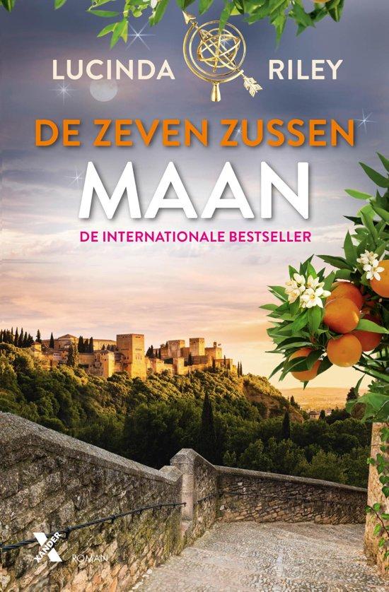Boekomslag voor De Zeven Zussen 5 - Maan