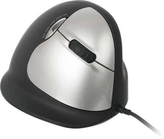 R-Go HE - Ergonomische muis - Large - Rechtshandig / Bedraad