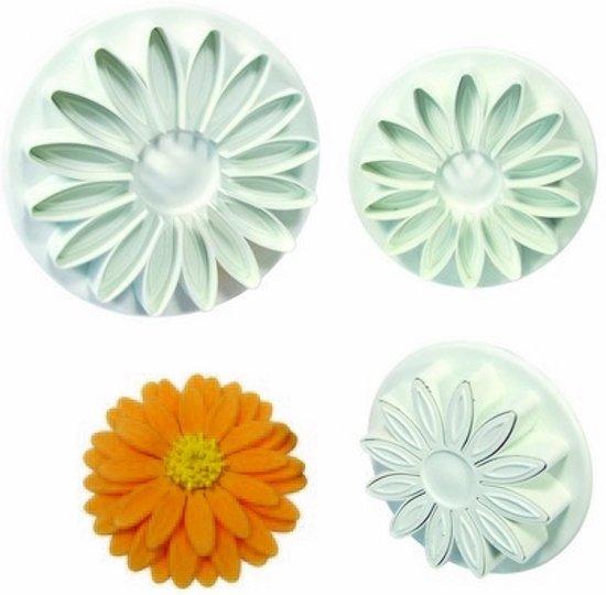 Bolcom Uitsteker Veined Sunflower Daisy Gerbera Pme Set Van 3