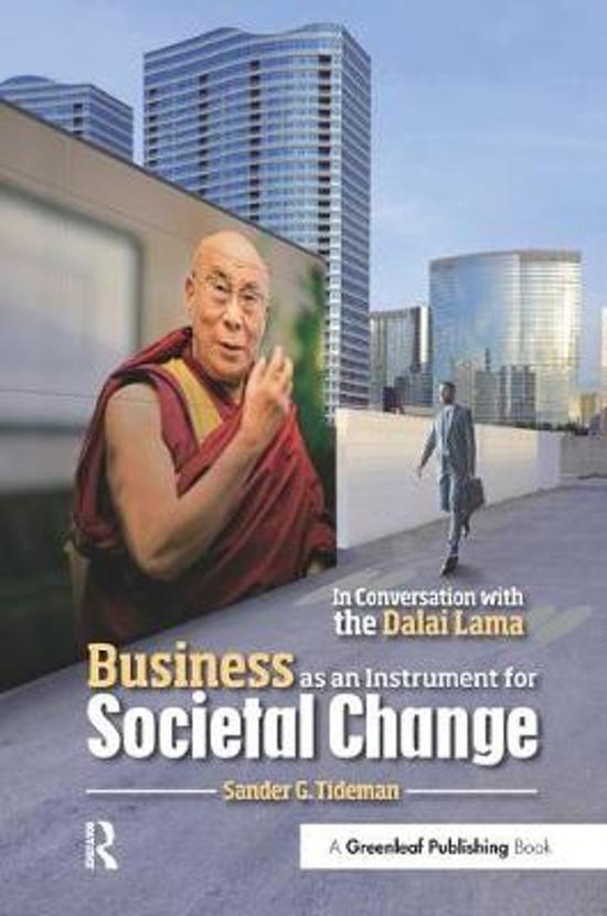 Boek cover Business as an Instrument for Societal Change van Sander G. Tideman (Hardcover)