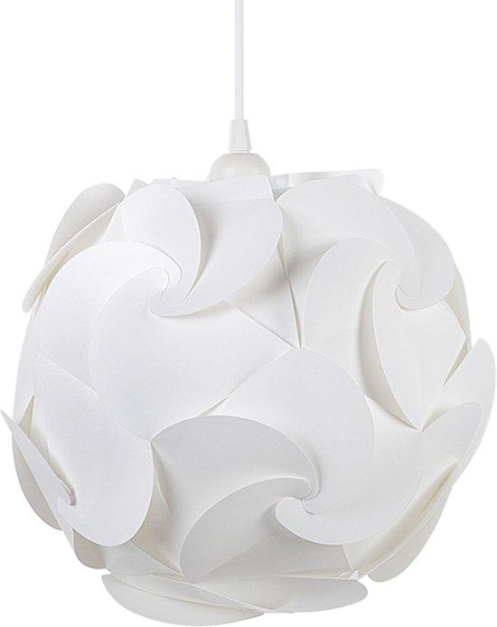 bol beliani tambre hanglamp kunststof wit