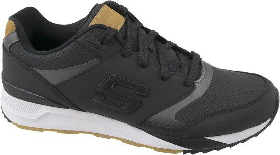 Skechers OG 90 52352 BLK, Mannen, Zwart, Sneakers maat: 43 EU