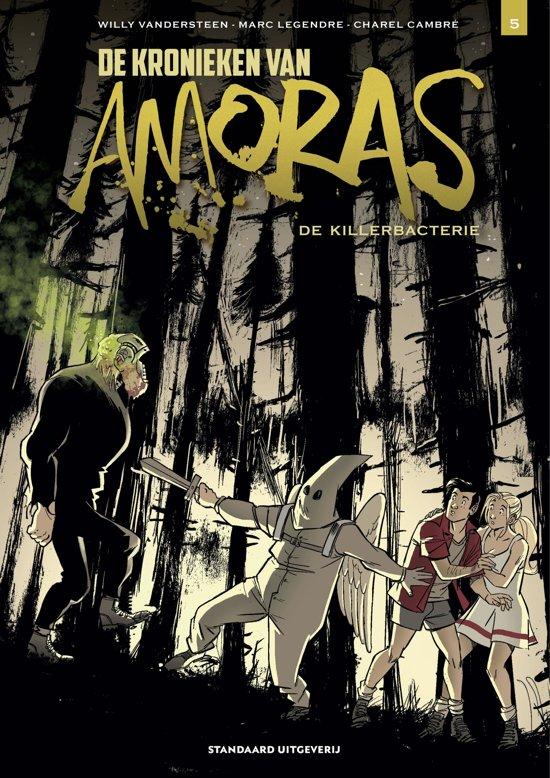 Boek cover Kronieken Amoras - De killerbacterie van Willy Vandersteen (Paperback)