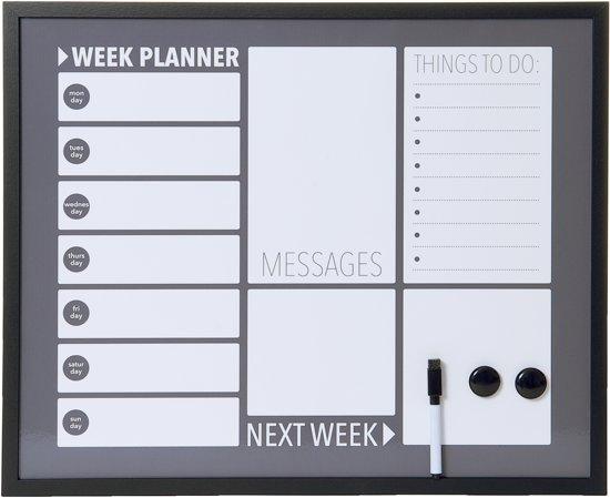 Notitiebord Keuken : bol.com Pt, Plan – Memobord – Donker grijs Wonen