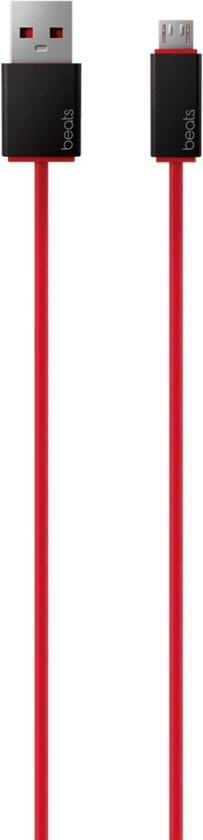 Beats by Dr Dre USB Kabel - Rood