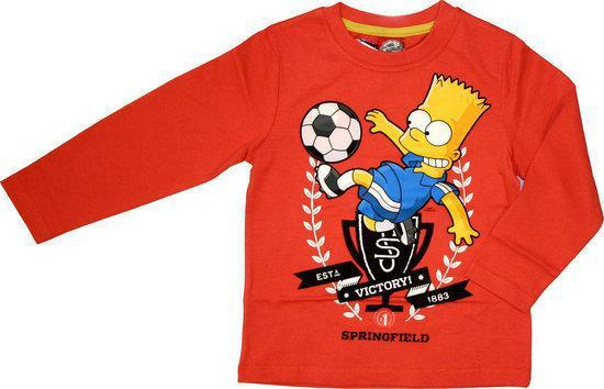 The Simpsons Jongens Longsleeve 116