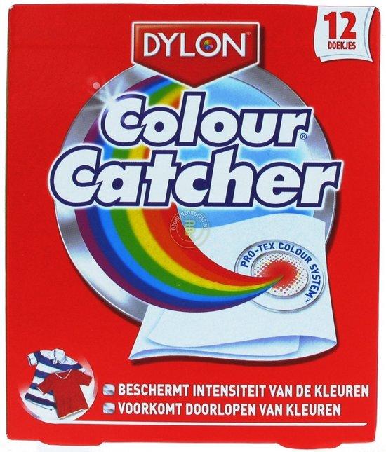 Dylon Colour Catcher - 12 st - Wasmiddel