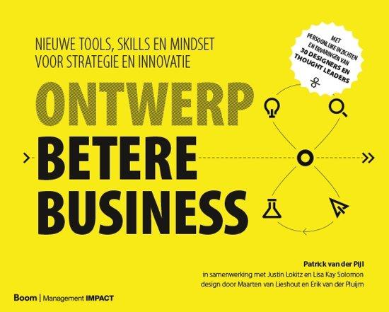Boek cover Ontwerp betere business van Patrick van der Pijl (Hardcover)