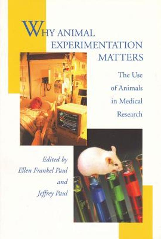 this paper talks about animal experiments