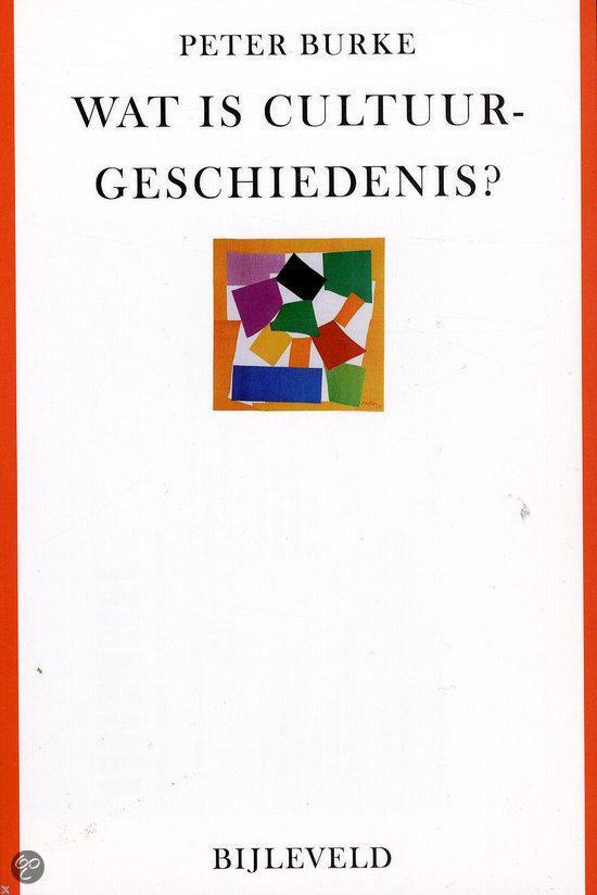 Wat is cultuurgeschiedenis?