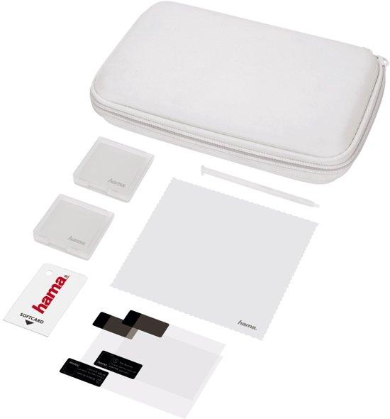 Hama 8in1 starterset PURE voor New 3DS, wit kopen