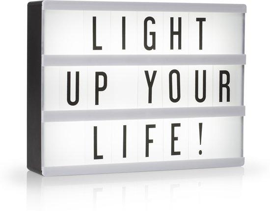 Smartwares IOL-002-BW - Lightbox LED A5 - incl. 85 karakters