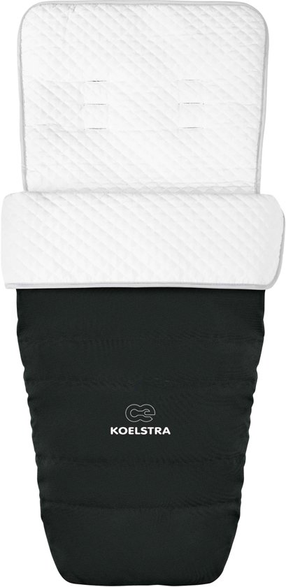 KOELSTRA - Voetenzak - Rody - Zwart
