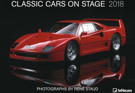 Staud R Classic Cars on Stage 2018 Posterkalender