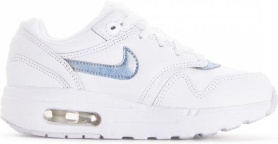 cf52c27f754 bol.com | Nike Air Max 1 Kids - Sneakers - Wit/Lichtblauw - Kinderen ...