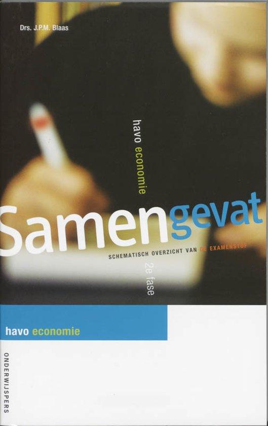 Boek cover Samengevat havo Economie van J.P.M. Blaas (Paperback)