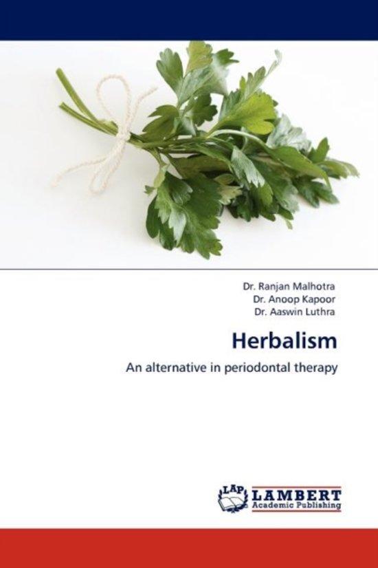 Boek cover Herbalism van Dr Ranjan Malhotra (Paperback)