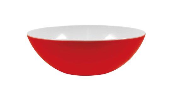 Zak!Designs Twotone Saladeschaal - Shallow - Ø 32 cm - Rood