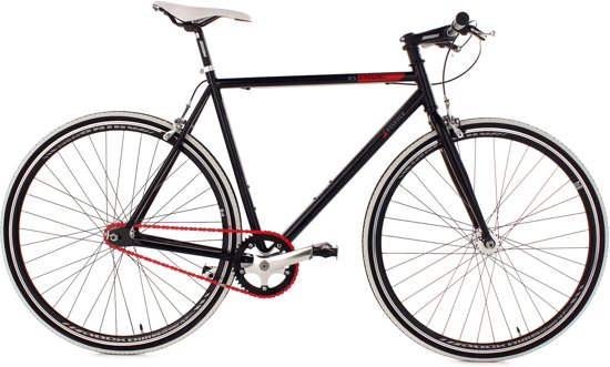 Ks Cycling Racefiets 28 inch fiets fixed gear bike Essence -