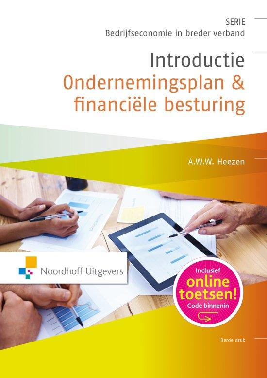 introductie ondernemingsplan bol.  Introductie ondernemingsplan & financiele besturing, A  introductie ondernemingsplan