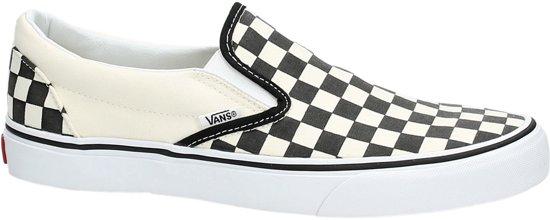 47a5dcd448d Vans Classic Slip-On Sneakers Unisex - Blk&Whtchckerboard/Wht - Maat 46