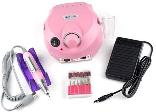 Nagelfrees - Elektrische Nagelvijl Set Bitjes- Manicure-Pedicure Motor Apparaat Voor Gelnagels-Kunstnagels-Acrylnagels