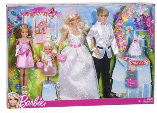 Bol Com Barbie Complete Bruiloft Set Mattel Speelgoed