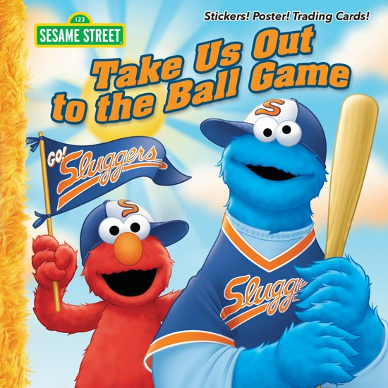 Boek cover Take Us Out to the Ball Game (Sesame Street) van Constance Allen (Paperback)