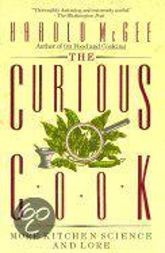 Boek cover The Curious Cook van Harold McGee (Paperback)