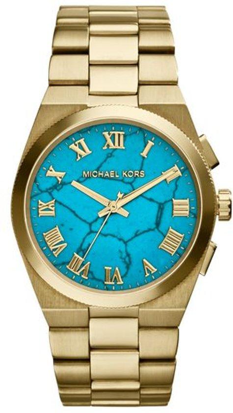Michael Kors MK5894 - Horloge -  Staal - Goudkleurig - 38 mm