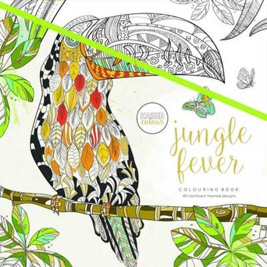 Kleurplaten Voor Volwassenen Muziek.Bol Com Kaisercraft Kleurboek Voor Volwassenen Jungle Fever