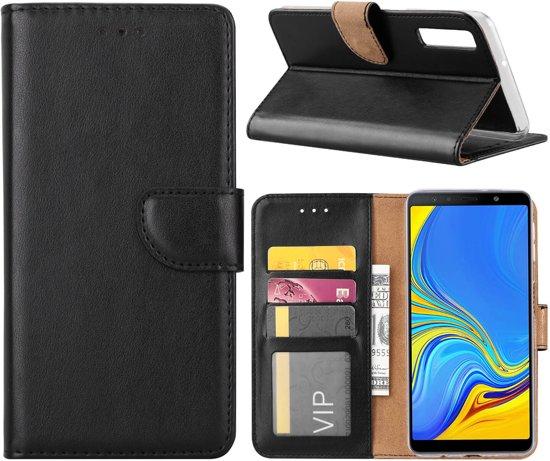 Boekmodel Hoesje Samsung Galaxy A7 (2018) - Zwart