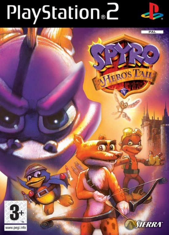 Spyro A Heroes Tail /PS2(PS2)