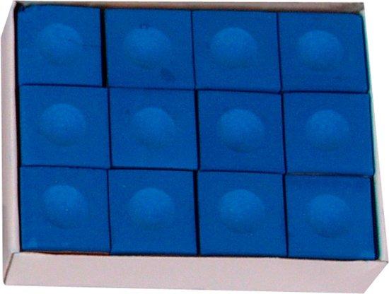 Biljart krijt Pioneer, dozijn blauw