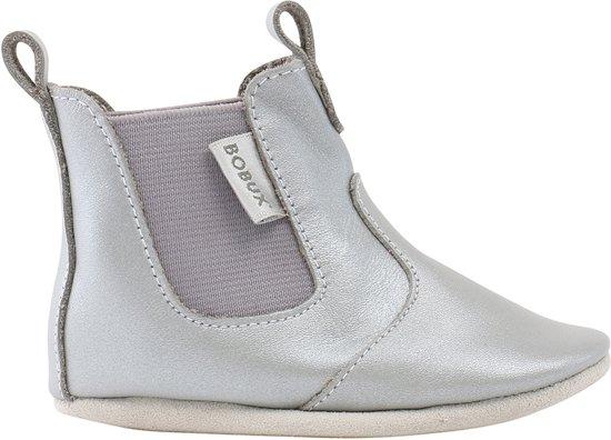 Bobux babyslofjes Silver Jodphur boot - maat L