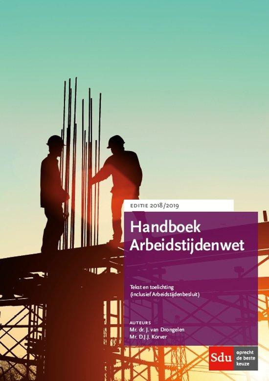 Boek cover Handboek Arbeidstijdenwet van J. van Drongelen (Onbekend)
