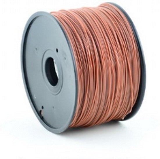 Gembird3 3DP-ABS3-01-BR - Filament ABS, 3 mm, bruin