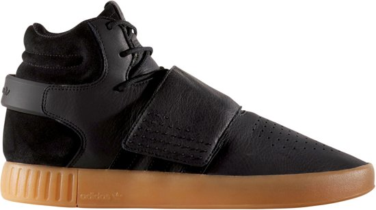 adidas tubular invader strap zwart