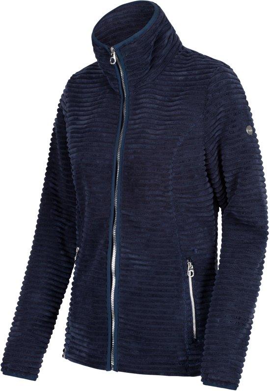 5c7929ba7e2 Regatta Halima Fleece Jas Dames Outdoorjas - Maat XXL - Vrouwen - blauw
