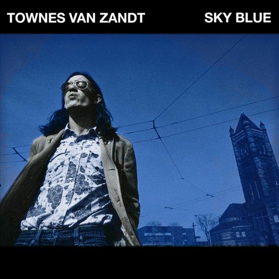 CD cover van Sky Blue van Townes Van Zandt
